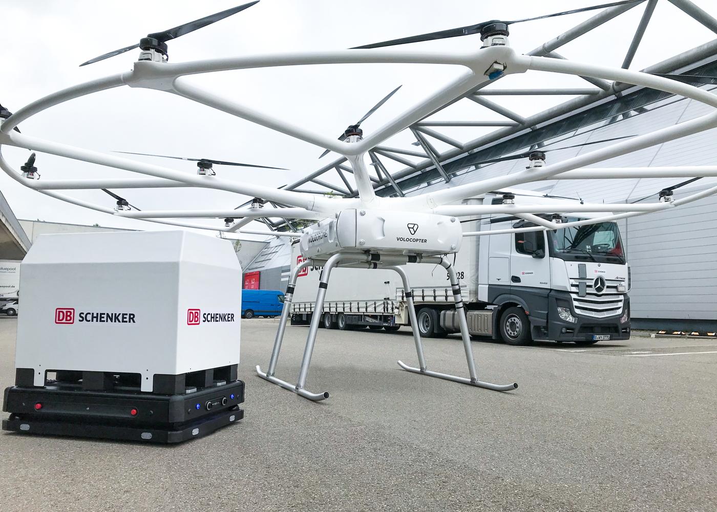 Volocopter DB Schenker VoloDrone