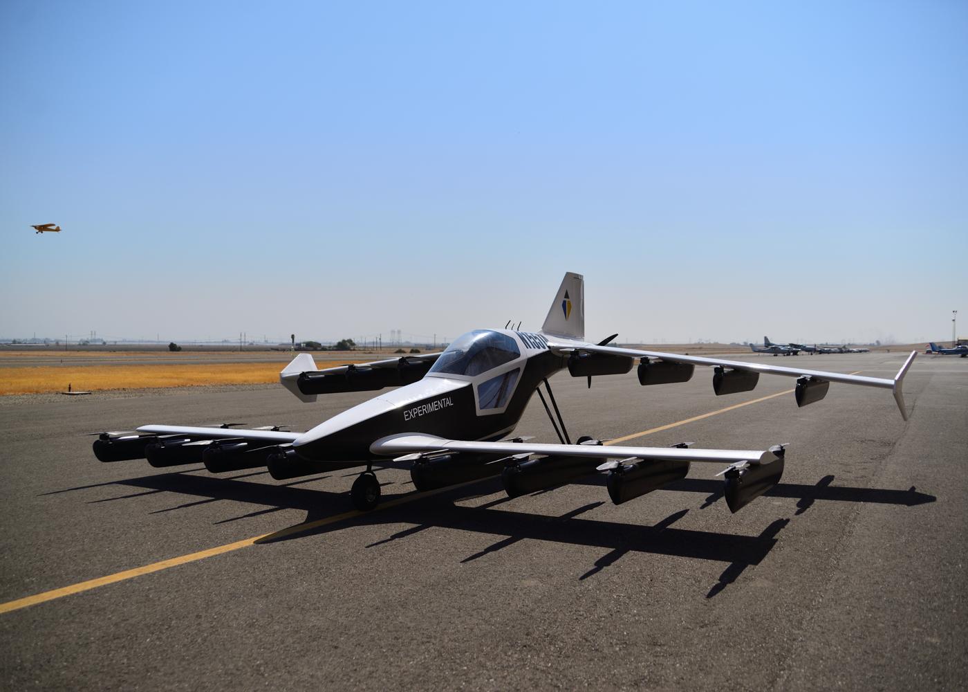 TeTra Aviation Mk-5 eVTOL