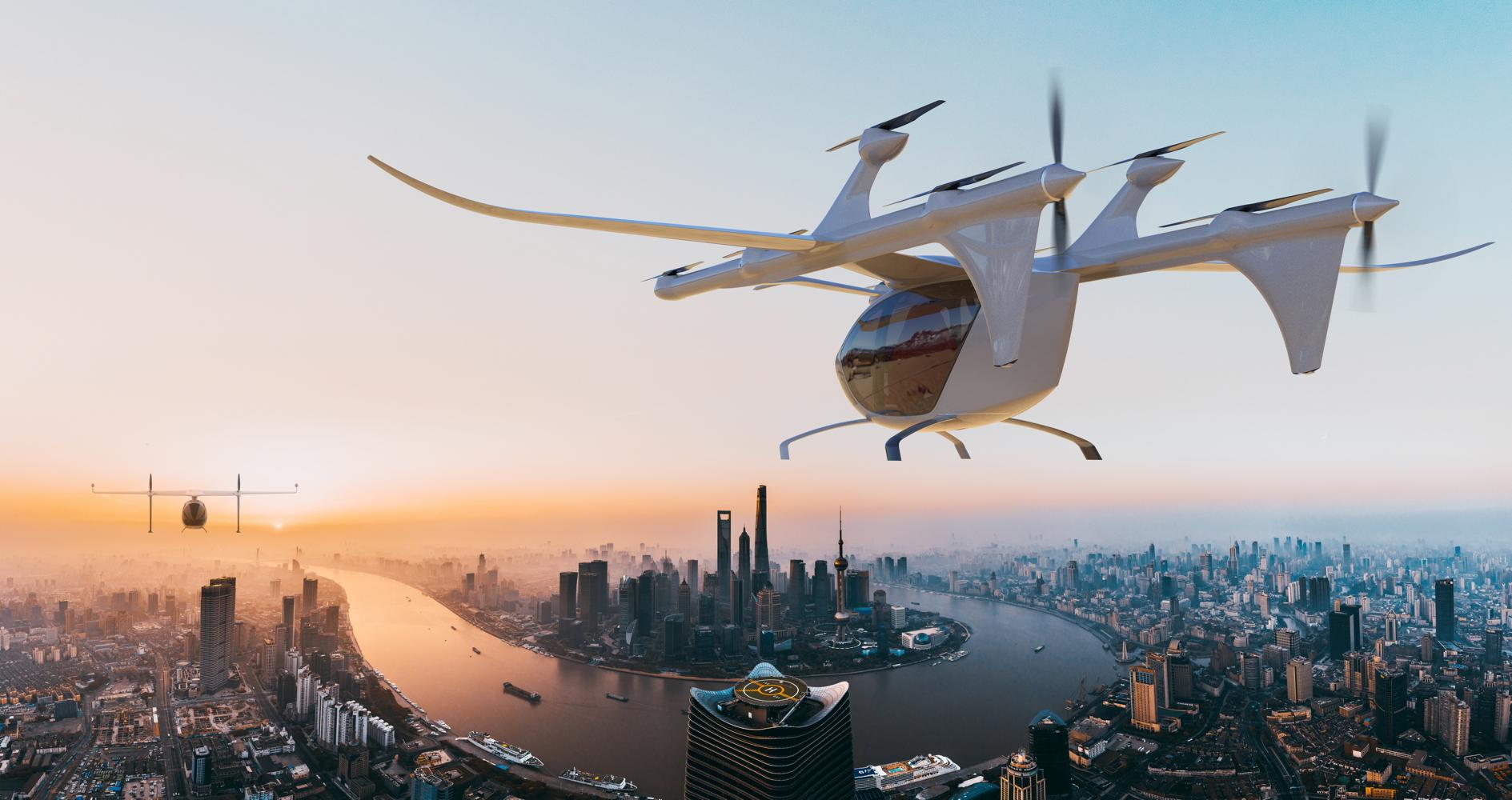 AutoFlight V1500M air taxi