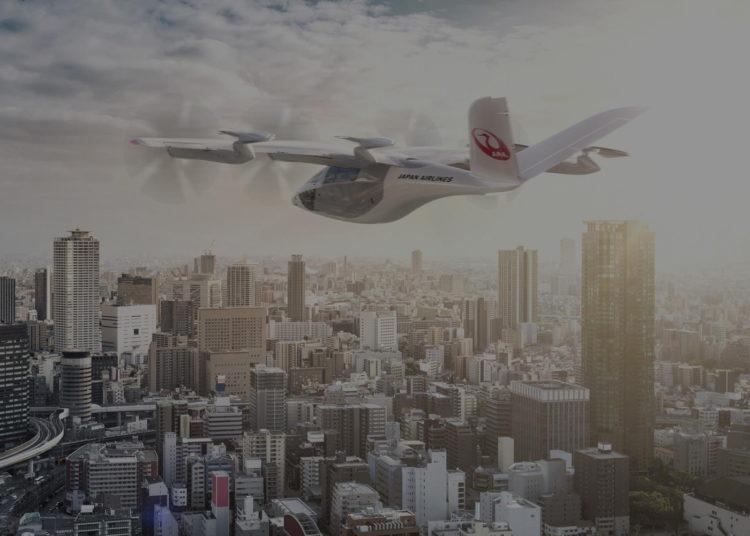 Vertical Aerospace VA-X4 eVTOL Japan Airlines JAL