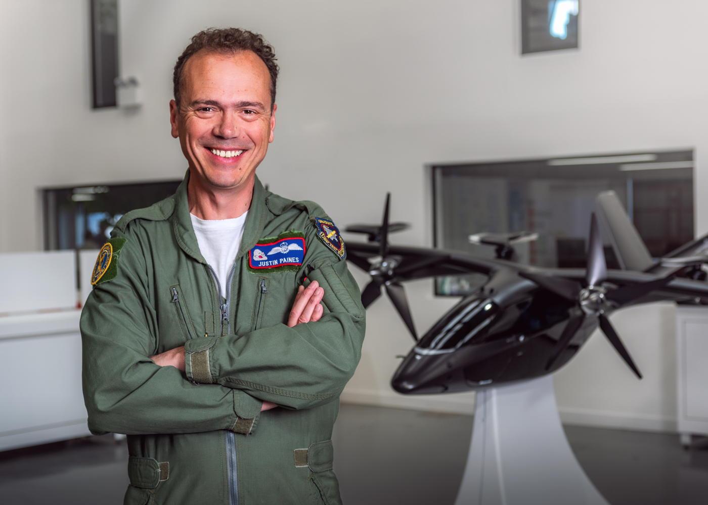 Justin Paines Vertical Aerospace